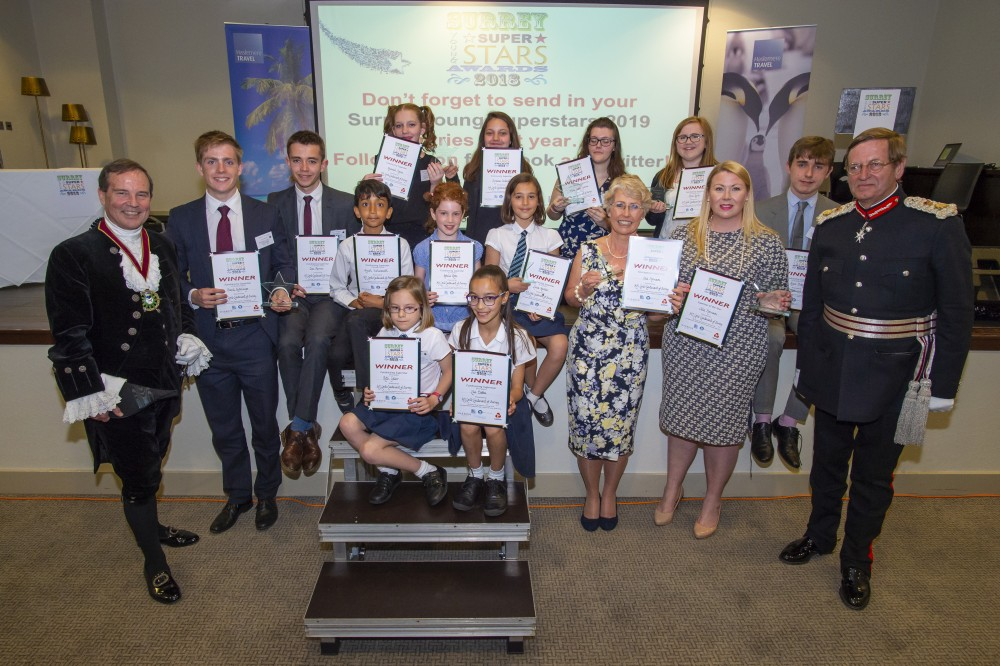 Surrey Young Superstars 2018 Winners Haslemere Travel